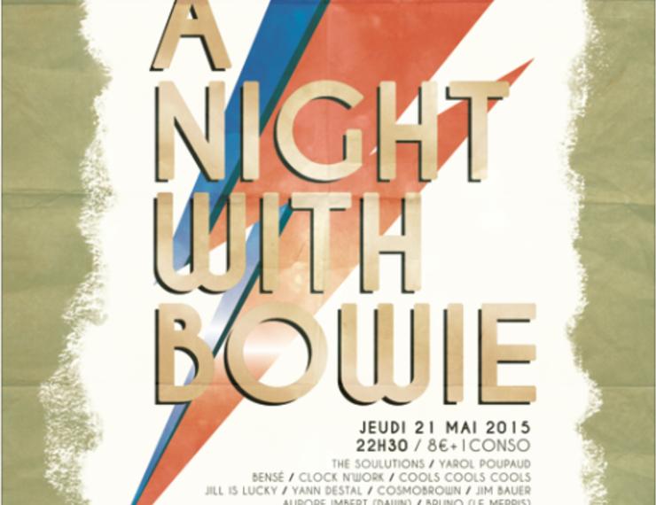 Nicolas Ullmann : A Night with Bowie ! En vrai direct !